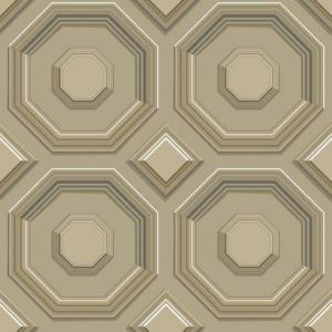 DI4741 Coffered Octagon York Wallpaper