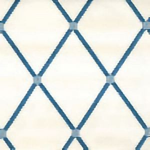 IDEAL Ivory Blue Norbar Fabric