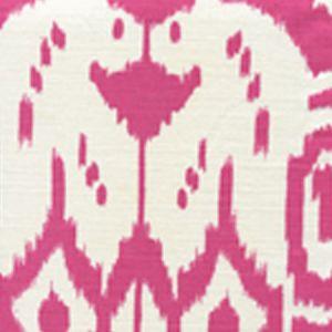 6460-17 ISLAND IKAT Magenta on White Quadrille Fabric