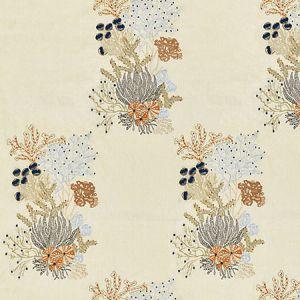 JM 00027072 COMBE MARTIN Sand Old World Weavers Fabric