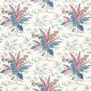 JP 0001 4485 BAHAR Peacock Rose Scalamandre Fabric