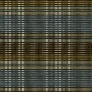 KANA VELVET Olive Azure Vervain Fabric