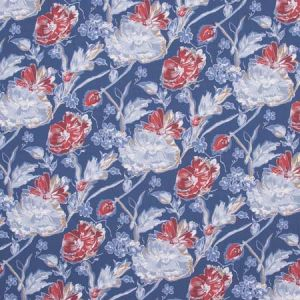 LADY IN WAITING Cobalt Carole Fabric