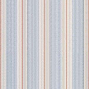 LCF67774F GIN BEACH TICKING Red Blue Ralph Lauren Fabric