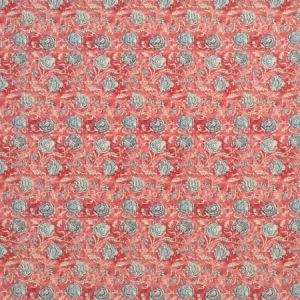 LCF67794F SHELL BEACH BATIK Vintage Red Ralph Lauren Fabric