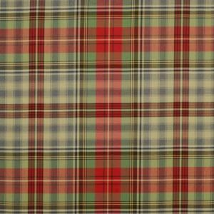 LCF68168F GLASGLOW TARTAN Vintage Red Ralph Lauren Fabric