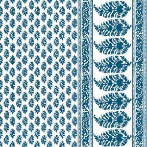 LCT1028-002 ARAVAQUITA Azul Gaston Y Daniela Fabric