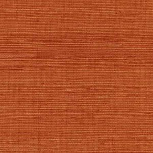 LN11841 Sisal Grasscloth Blood Orange Seabrook Wallpaper
