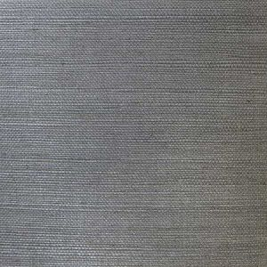 LN11845 Sisal Grasscloth Graphite Seabrook Wallpaper