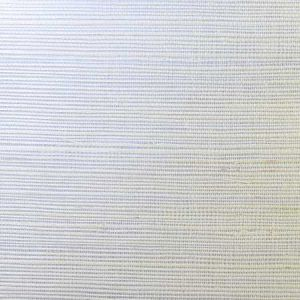 LN11855 Sisal Grasscloth Metallic Silver and Ivory Seabrook Wallpaper