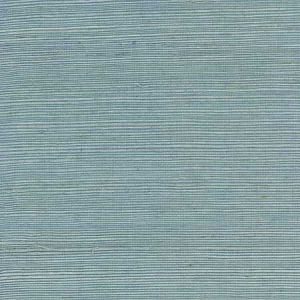 LN11862 Sisal Grasscloth Powder Blue Seabrook Wallpaper