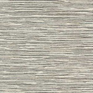 LN11865 Sisal Grasscloth Ivory and Jet Black Seabrook Wallpaper