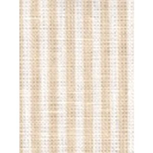 6930W-01 LULU STRIPE Beige on White Linen Quadrille Fabric