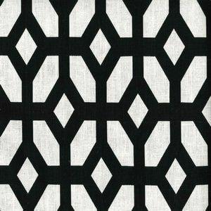 LYCHEE Black Cc3 Norbar Fabric