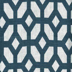 LYCHEE Indigo Cc7 Norbar Fabric