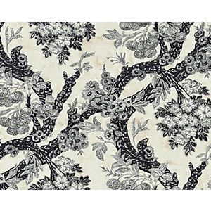 M7 0002SUMM SUMMERHOUSE HILL Charcoal Old World Weavers Fabric