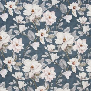 MAGNOLIA GARDEN Powder Blue Carole Fabric