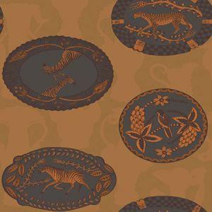 109/4022-CS MATRINAH Ochre Cole & Son Wallpaper