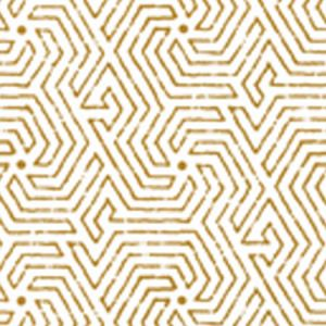 2510-04WP MAZE Camel Quadrille Wallpaper