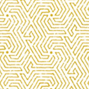 2510-14WP MAZE Yellow Quadrille Wallpaper