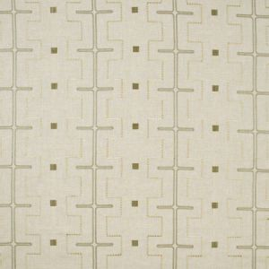 MAZE AWAY Stone Carole Fabric