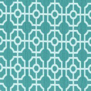 MONET Turquoise 21 Norbar Fabric