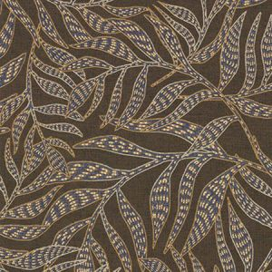 391550 Montrose Leaves Brown Brewster Wallpaper