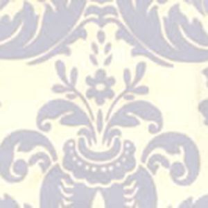 302159W MONTY Hansen Blue On Off White Quadrille Wallpaper