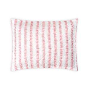 MSC001QSSHAPG ATTLEBORO Pink Coral Schumacher Quilted Standard Sham