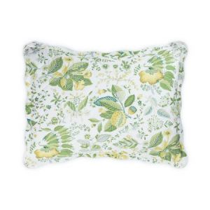 MSC006QBSHACS POMEGRANATE Citrus Schumacher Quilted Boudoir