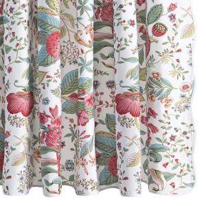 MSC006SHOPG POMEGRANATE Pink Coral Schumacher Shower Curtain