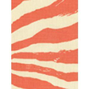 2110-45 NAIROBI Orange on Tint Custom Only Quadrille Fabric