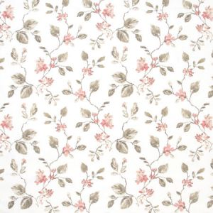 NEVER LEAVE Persimmon Carole Fabric