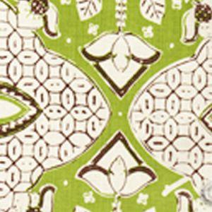 6430-06 NEW BATIK New Jungle New Brown on Tint Quadrille Fabric