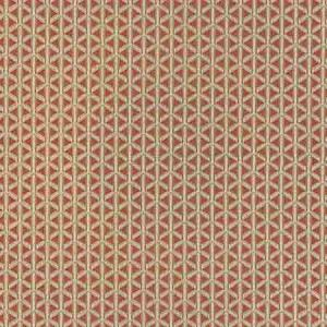 NK 0004CROS CROSS CHANNEL Pimento Old World Weavers Fabric