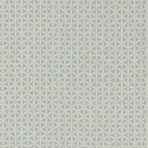NK 0002CROS CROSS CHANNEL Sky Old World Weavers Fabric