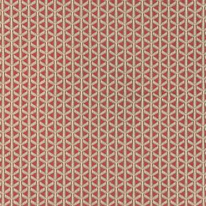 NK 0005CROS CROSS CHANNEL Rouge Old World Weavers Fabric