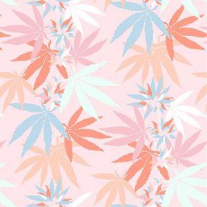 Nathan Turner Girl's Best Friend Pink Wallpaper