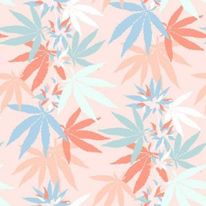 Nathan Turner Girl's Best Friend Peach Wallpaper