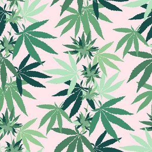 Nathan Turner Cannabis Pink Wallpaper