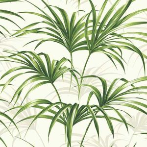 NW32504 Tropical Palm Leaf Seabrook Wallpaper
