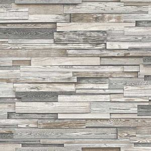 NW32600 Reclaimed Wood Plank Seabrook Wallpaper