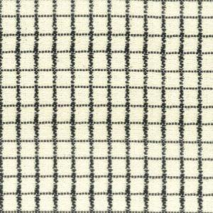 ORSINI 1 BLACK CREAM Stout Fabric