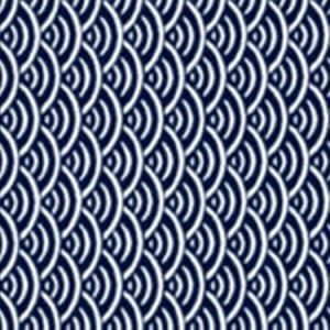 OSTROW Navy 60 Norbar Fabric