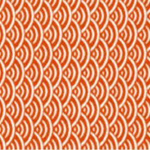 OSTROW Orange 25 Norbar Fabric