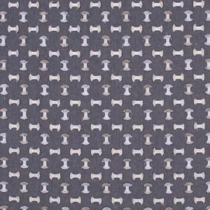 PICK A BOW Gunmetal Carole Fabric
