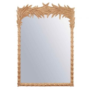 Santa Monica Mirror, Gold Yellow by Source 4 Interiors