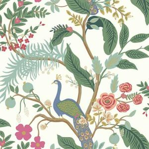RI5174 Peacock York Wallpaper