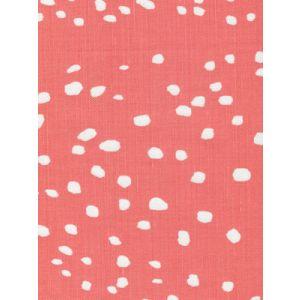 4055-12 RIO REVERSE New Shrimp on White Quadrille Fabric