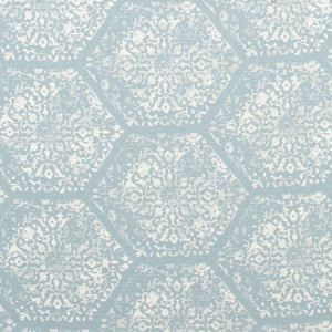 ROYAL SEAL Cyan Carole Fabric